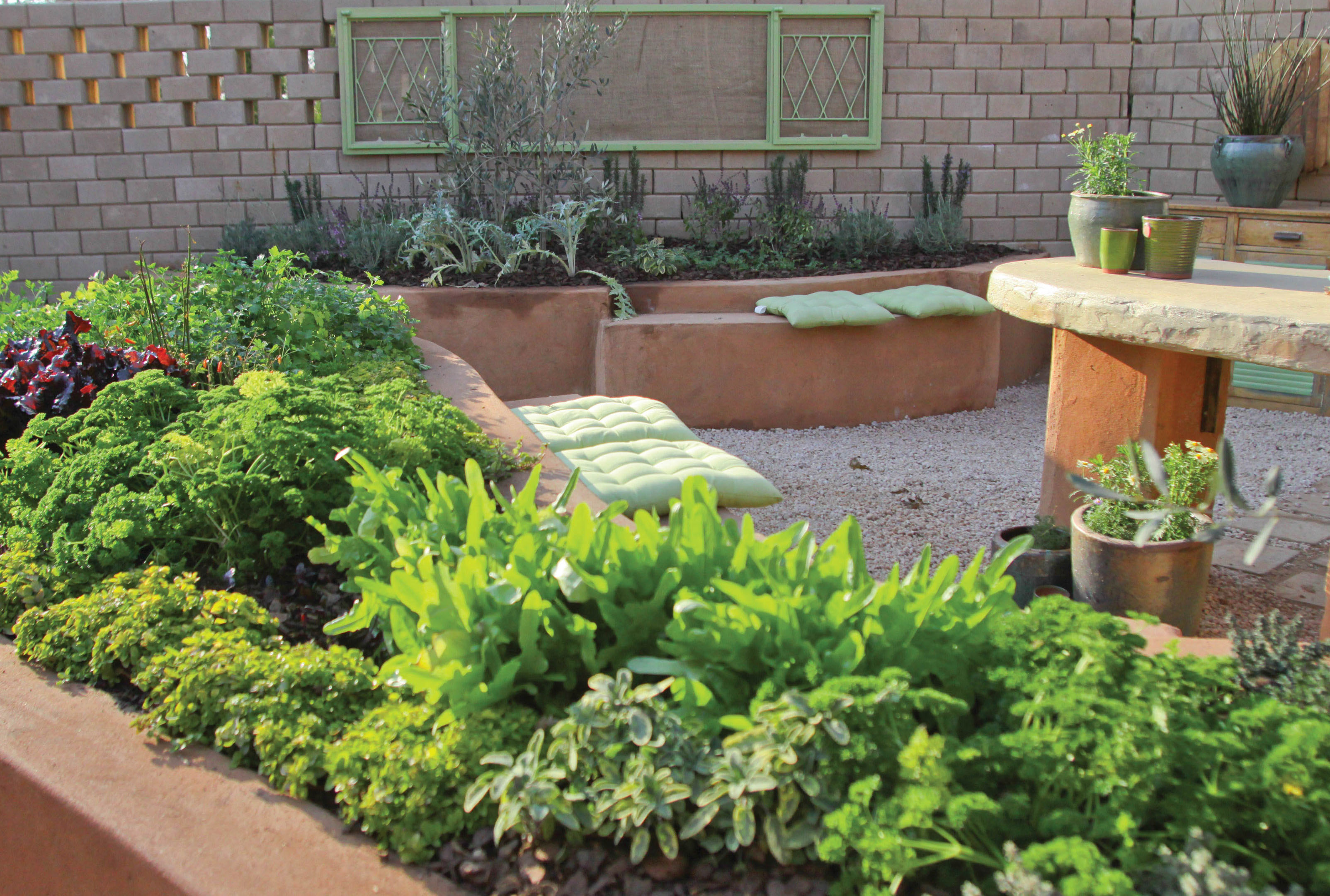 How To Create A Herb Garden Fine Woodworking Blueprint